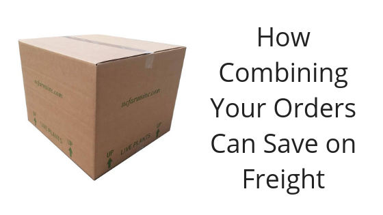 Image for How Combining Your Orders Can Save on Freight
