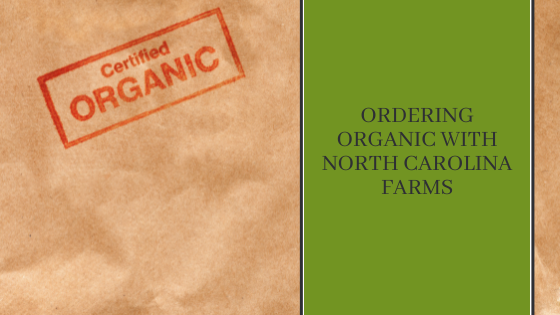 Image for Ordering Organic with North Carolina Farms