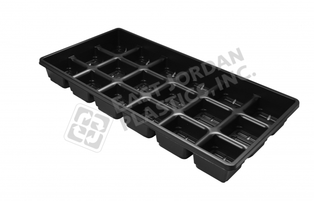 FOUR INCH SQUARE SHUTTLE TRAY